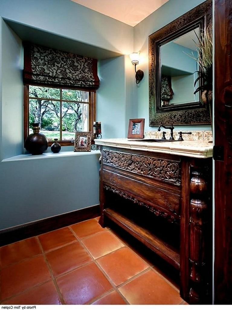 45 Wonderful Bathroom Cabinet Paint Color Ideas